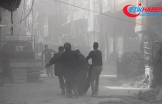 Suriye'de 2018'de yaklaşık 7 bin sivil...