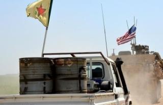 Suriye'de ABD-YPG/PKK unsurlarına saldırı