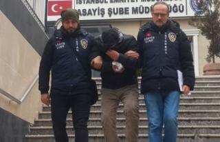 Tekstilci iş adamını soyan şüpheli yakalandı