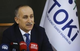 TOKİ Başkanı Bulut: 81'den daha fazla millet...