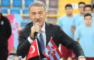 Trabzonspor basketbol altyapısının açılış töreni...