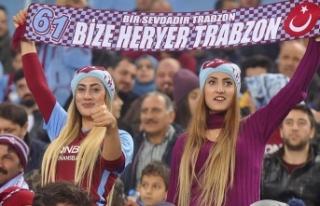 Trabzonspor'da ikinci devre kombine satışları...