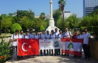 'Türkiye, Lübnan'daki faaliyetleriyle...