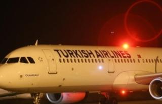 Türkiye'den Süleymaniye'ye ilk uçak seferi...