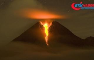 Ülkenin en aktif yanardağında hareketlilik arttı