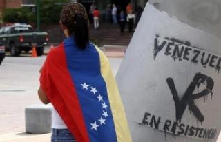 Venezuela'da muhalefet ve iktidar yanlılarından...