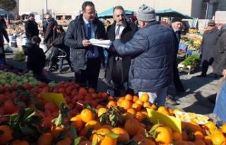 Yozgat'ta market ve pazarda fiyat denetimi