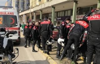 'Yunus' ekibinin motosikleti devrildi: 2...