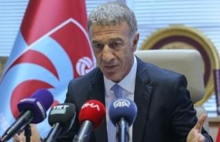 Ahmet Ağaoğlu, camiadan ve taraftarlardan özür...