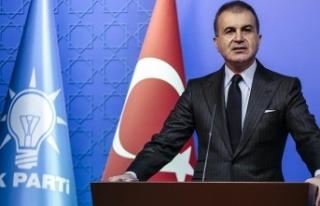 AK Parti Sözcüsü Çelik: Fransa öncelikle insanlığa...
