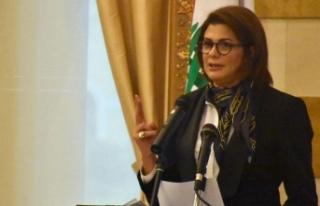'Arap dünyasının ilk kadın İçişleri Bakanı...
