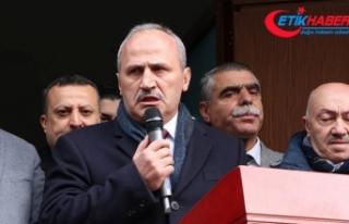 Bakan Turhan: Bu seçim okyanus ötesine atılacak...