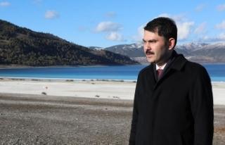 Bakan Kurum: Salda Gölü'nün imara açılacağı...