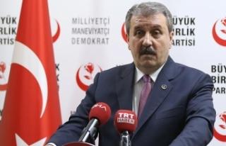 BBP Genel Başkanı Destici: Büyük Birlik Partisi...