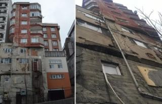 Belediyeden Bağcılar'da dikkat çeken bina hakkında...