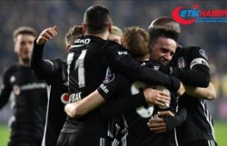 Beşiktaş Malatya'da kazandı