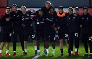 Beşiktaş'ta Fenerbahçe mesaisi başladı