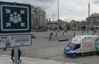 Beyoğlu'nda 42 toplanma alanı belirlendi