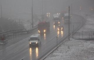Meteoroloji'den Karla Karışık Yağmur ve Kar...