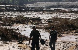 Brezilya'da barajın çökmesi sonucu ölenlerin...