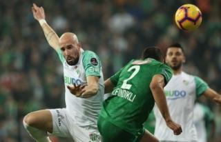 Bursa'da gol sesi çıkmadı