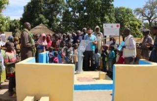 Cansuyu Derneği Mali'de 13 su kuyusu açtı