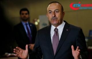 Çavuşoğlu: Sınırımızın ötesindeki teröristleri...
