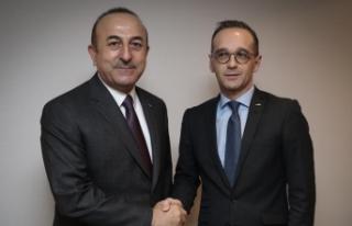 Çavuşoğlu Almanya Dışişleri Bakanı Mass ile...
