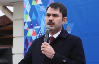 Çevre ve Şehircilik Bakanı Kurum: İzmir Bayraklı'ya...