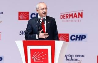 CHP Genel Başkanı Kılıçdaroğlu: Türkiye'nin...