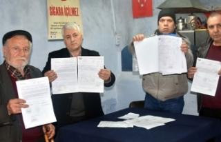 Çiftçilerden kooperatife senet imzalatıp, borçlu...