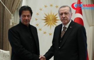 Cumhurbaşkanı Erdoğan, Pakistan Başbakanı Han...