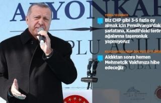 Cumhurbaşkanı Erdoğan: 31 Mart seçimlerinden tarihi...