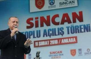 Cumhurbaşkanı Erdoğan: Ankara şehir hastanesi...
