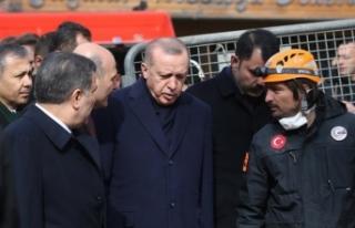Cumhurbaşkanı Erdoğan: Bütün çalışmalardan...