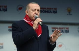 Cumhurbaşkanı Erdoğan: Büyük Türkiye hedefine...