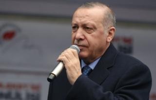 Cumhurbaşkanı Erdoğan: CHP İstiklal Marşımızı...