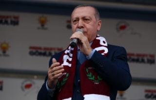 Cumhurbaşkanı Erdoğan: Her seçimi ellerine yüzlerine...