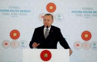 Cumhurbaşkanı Erdoğan: İstanbul Atatürk Kültür...
