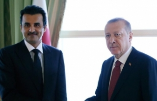 Cumhurbaşkanı Erdoğan, Katar Emiri Al Sani ile...