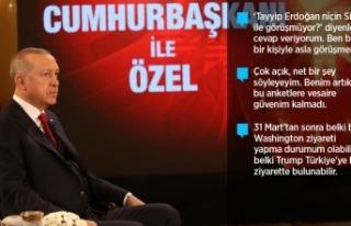 Cumhurbaşkanı Erdoğan: Meydanlar şu anda gayet...