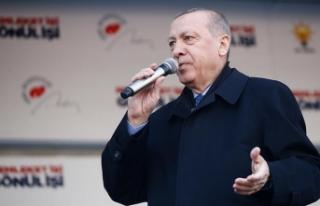 Cumhurbaşkanı Erdoğan: Ne pahasına olursa olsun...