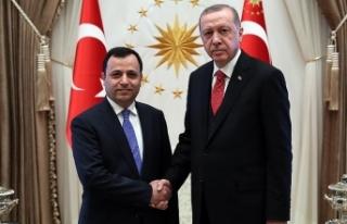 Cumhurbaşkanı Erdoğan Zühtü Arslan'ı kabul...