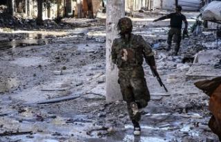 Deyrizor'da YPG/PKK-DEAŞ arasındaki çatışmalar...