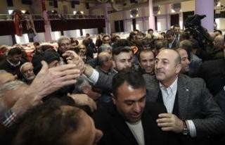 Dışişleri Bakanı Çavuşoğlu: Biz her ortamda...