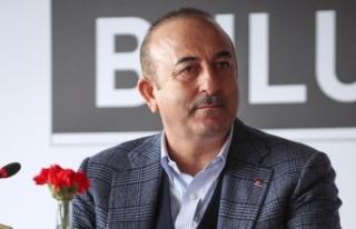 Dışişleri Bakanı Çavuşoğlu: Irak'ın inşası...