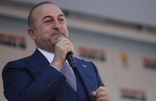 Dışişleri Bakanı Çavuşoğlu: Vatanını seven...