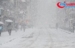 Doğu illeri için 'yoğun kar yağışı' uyarısı