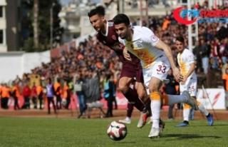 Dört gol Hatayspor'a yetmedi