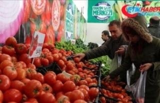 Elazığ'da ilk 'tanzim satış noktası'...